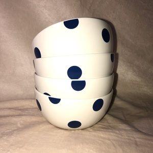 Kate Spade Set of 4 Bowls